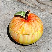 Посуда handmade. Livemaster - original item Ceramic sugar bowl