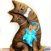 Подарки к праздникам ручной работы. Ярмарка Мастеров - ручная работа Парная игрушка. Молодым родителям, с новорожденным. Ситцевая свадьба. Handmade.