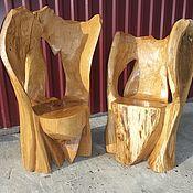 Для дома и интерьера ручной работы. Ярмарка Мастеров - ручная работа кресла из дуба. Handmade.