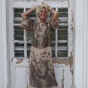 Одежда ручной работы. Ярмарка Мастеров - ручная работа Платье шёлковое LOVE#19. Handmade.