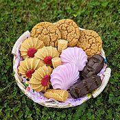 handmade. Livemaster - original item Basket of soap desserts.. Handmade.