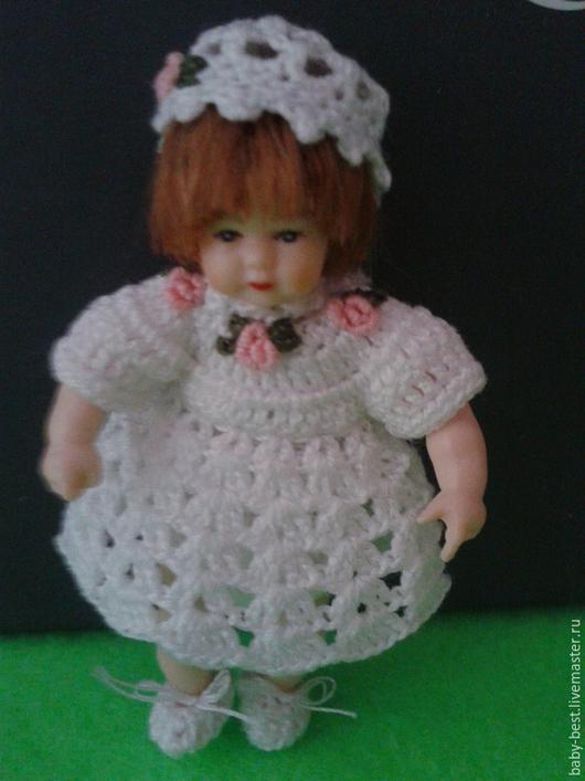 Куклы и игрушки ручной работы. Ярмарка Мастеров - ручная работа. Купить Миниатюрная  куколка. Handmade. Куколка, винтажная игрушка, разноцветный