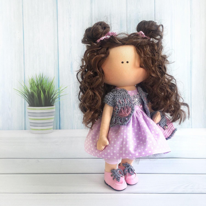 Куклы тыквоголовки ручной работы. Ярмарка Мастеров - ручная работа. Купить Кукла из трикотажа. Handmade. Кукла интерьерная, кукла для дочки