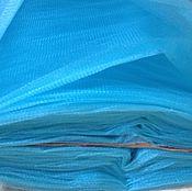 """Материалы для творчества ручной работы. Ярмарка Мастеров - ручная работа фатин """"аква"""" ярко- голубой. Handmade."""