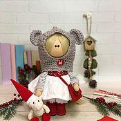 Тыквоголовка ручной работы. Ярмарка Мастеров - ручная работа Интерьерная текстильная кукла. Handmade.