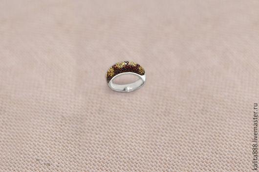 Кольца ручной работы. Ярмарка Мастеров - ручная работа. Купить Кольцо с цветными сапфирами. Handmade. Комбинированный, кольцо золотое