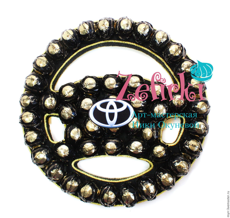 Тойота из конфет своими руками фото 497