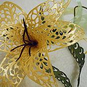 Цветы и флористика ручной работы. Ярмарка Мастеров - ручная работа Захват для штор. Handmade.