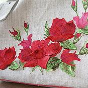 """Сумки и аксессуары ручной работы. Ярмарка Мастеров - ручная работа сумка """"Роскошные розы"""". Handmade."""