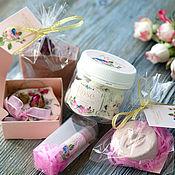 """Косметика ручной работы. Ярмарка Мастеров - ручная работа Подарочный набор """"Розовый сад"""". Handmade."""