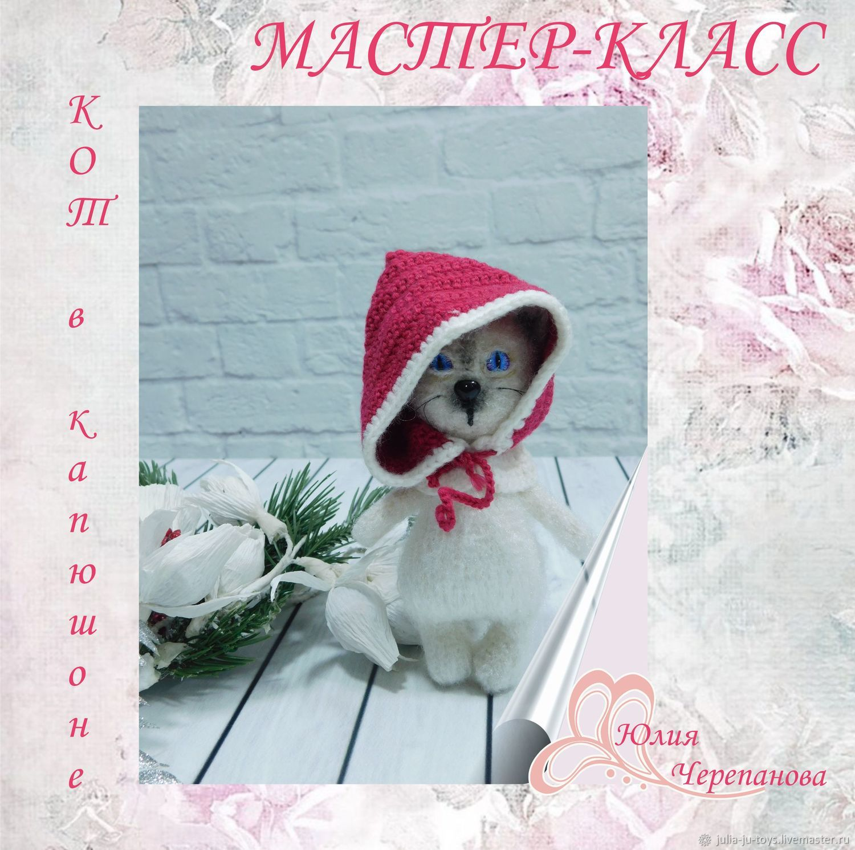 Кот в капюшоне, Схемы вязания, Екатеринбург,  Фото №1