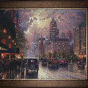"""Картины и панно ручной работы. Ярмарка Мастеров - ручная работа Картина """"Городской пейзаж""""-1. Handmade."""