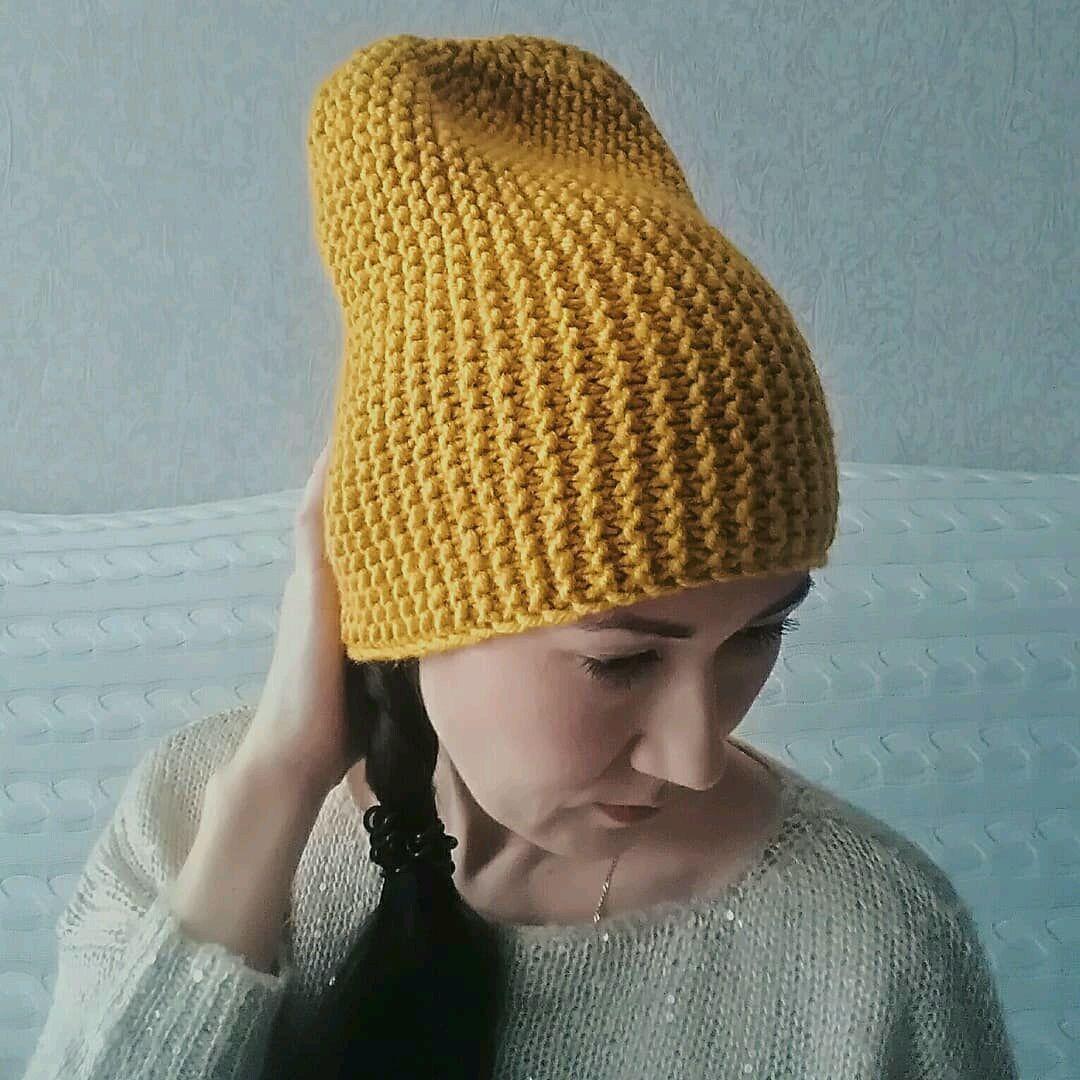 Схема вязания шапки платочной вязкой фото 507