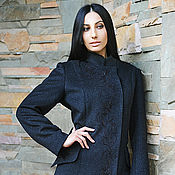 Coats handmade. Livemaster - original item Women`s coat with embroidery.wool coat