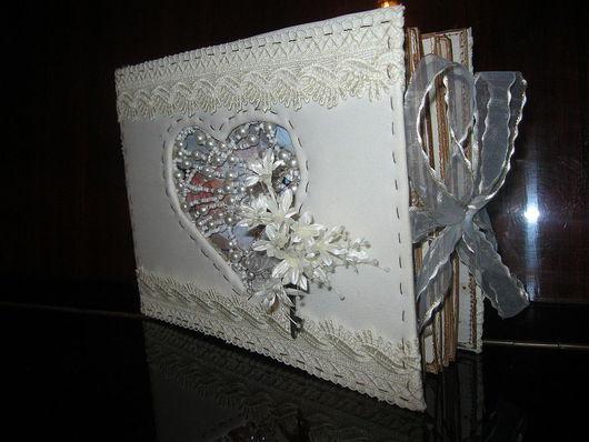 Свадебные фотоальбомы ручной работы. Ярмарка Мастеров - ручная работа. Купить Альбом свадебный. Handmade.