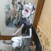 Куклы и игрушки ручной работы. Ярмарка Мастеров - ручная работа Темный Ангел (Продан). Handmade.