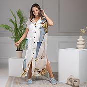 Одежда handmade. Livemaster - original item Floor-length vest dress. Handmade.