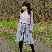 Одежда ручной работы. Ярмарка Мастеров - ручная работа Платье из ангоры и мохера (№210). Handmade.