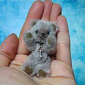 Куклы и игрушки ручной работы. Ярмарка Мастеров - ручная работа Мишка Джей 6 см (заказ). Handmade.