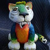 Куклы и игрушки ручной работы. Ярмарка Мастеров - ручная работа Тигр-Ара. Handmade.