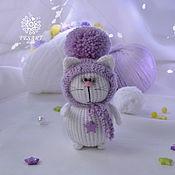 handmade. Livemaster - original item Lilac Cat. Handmade.