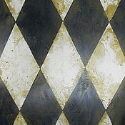 """Картины и панно ручной работы. Ярмарка Мастеров - ручная работа """"Имитация старой плитки"""". Handmade."""