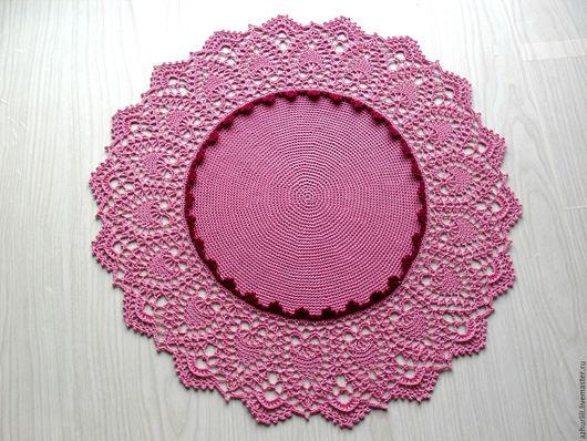 """Текстиль, ковры ручной работы. Ярмарка Мастеров - ручная работа. Купить Салфетка интерьерная """"Марго"""". Handmade. Ажурный узор, для фотосессий"""