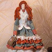 Куклы и игрушки ручной работы. Ярмарка Мастеров - ручная работа Рыжеволосая красавица Анастасия. Handmade.