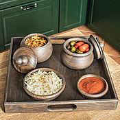 Для дома и интерьера handmade. Livemaster - original item Set for serving and serving, 5 items. Handmade.