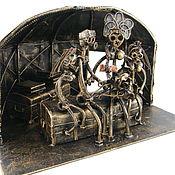 Сувениры и подарки handmade. Livemaster - original item A family in a Yurt. Handmade.