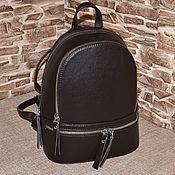 Сумки и аксессуары handmade. Livemaster - original item Model 83 Genuine Leather Backpack Leather Backpack. Handmade.