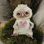 Куклы и игрушки ручной работы. Ярмарка Мастеров - ручная работа Сова Снежка. Handmade.
