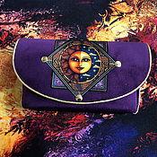 Фен-шуй и эзотерика handmade. Livemaster - original item Velvet clutch bag for Tarot, Oracle.. Handmade.