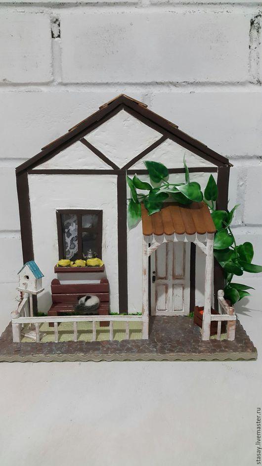 """Кухня ручной работы. Ярмарка Мастеров - ручная работа. Купить Эксклюзивный чайный домик """"Усадьба для Ольки"""". Handmade. Разноцветный"""