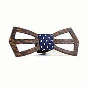 Аксессуары ручной работы. Ярмарка Мастеров - ручная работа Деревянная галстук- бабочка. Handmade.