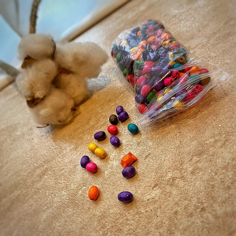 Набор разноцветных деревянных бусин, Бусины, Тамбов,  Фото №1
