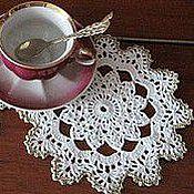"""Для дома и интерьера ручной работы. Ярмарка Мастеров - ручная работа Салфетка """"К чаю"""". Handmade."""