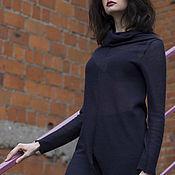 Одежда ручной работы. Ярмарка Мастеров - ручная работа Туника LONG BLACK. Handmade.