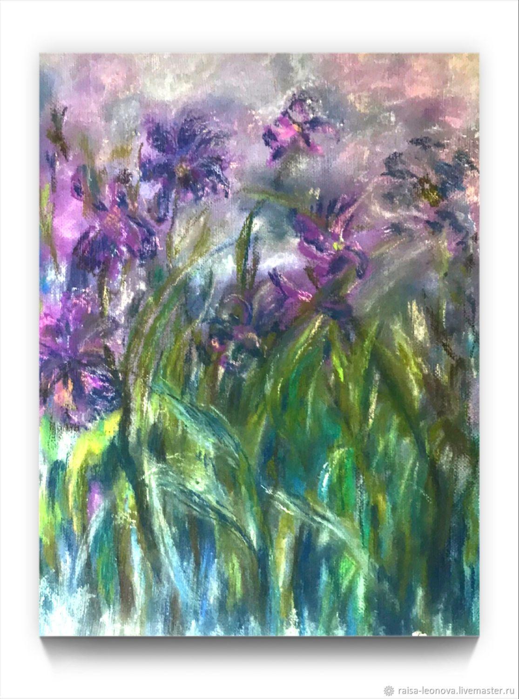 Painting: irises, Pictures, Sopot,  Фото №1