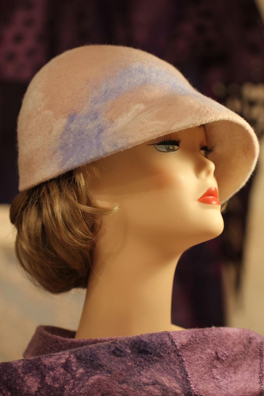 Шляпы ручной работы. Ярмарка Мастеров - ручная работа. Купить Шляпка 'Грейс'. Handmade. Кепка, купить подарок, шляпка женская