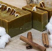 """Косметика ручной работы. Ярмарка Мастеров - ручная работа Натуральное мыло """"Зеленая глина"""". Handmade."""