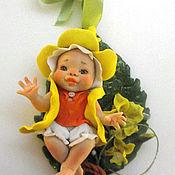 Куклы и игрушки ручной работы. Ярмарка Мастеров - ручная работа Феечка Нарцисс. Handmade.