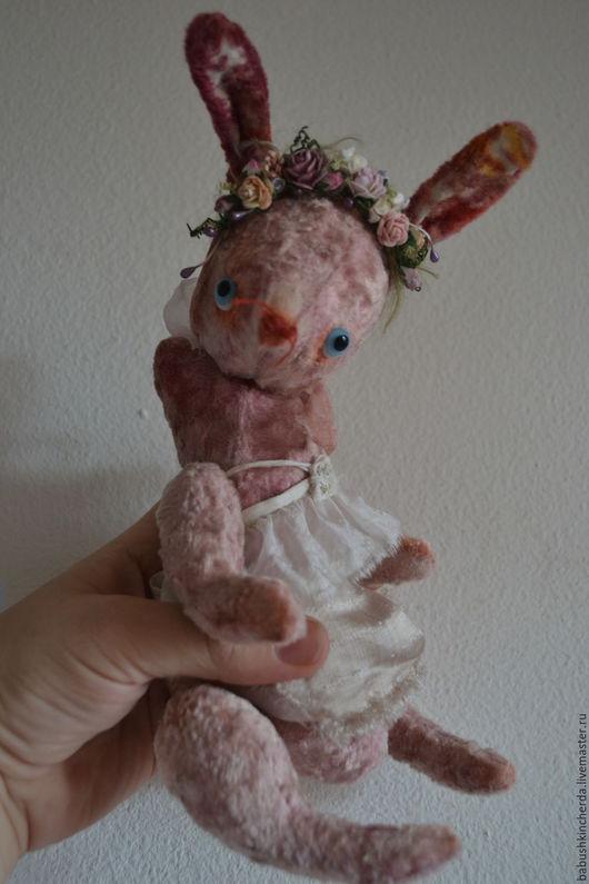 Мишки Тедди ручной работы. Ярмарка Мастеров - ручная работа. Купить зая Весна и Зая Джульетта. Handmade. Зайка