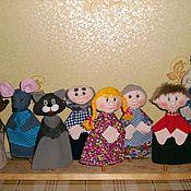 Куклы и игрушки ручной работы. Ярмарка Мастеров - ручная работа Би-ба-бо. Handmade.