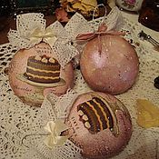 """Подарки к праздникам ручной работы. Ярмарка Мастеров - ручная работа Игрушки на елку """" Сonfiserie"""". Handmade."""