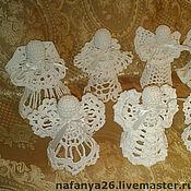 Куклы и игрушки ручной работы. Ярмарка Мастеров - ручная работа Рождественские ангелочки. Handmade.