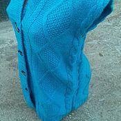 Одежда ручной работы. Ярмарка Мастеров - ручная работа Вязаный жилет. Handmade.
