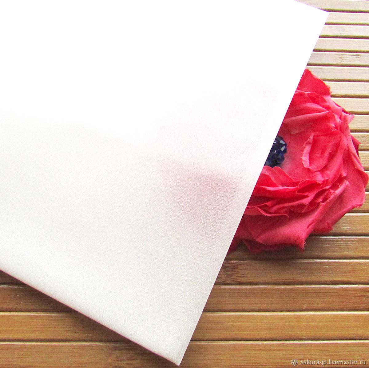Хабутай 10 натуральный шелк. Японская ткань для цветов. САКУРА - материалы для цветоделия. Ярмарка мастеров.