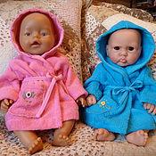 Куклы и игрушки ручной работы. Ярмарка Мастеров - ручная работа Махровые кукольные халатики. Handmade.