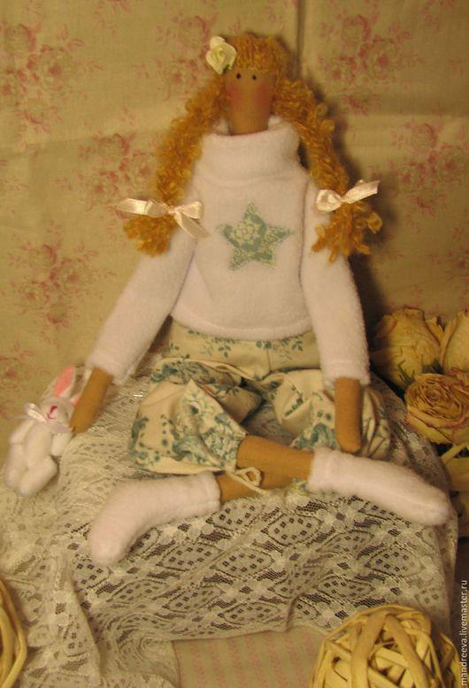 Куклы Тильды ручной работы. Ярмарка Мастеров - ручная работа. Купить Кукла Возвращение в детство. Handmade. Белый, интерьерная кукла